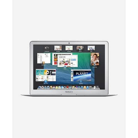 Macbook Air 11.6-inch (Glossy) 1.7GHZ Dual Core i7 (Early 2014) 750 GB Hard Drive 8 GB Memory - Silver