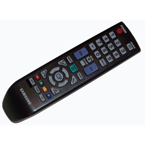 OEM Samsung Remote Control Originally Supplied With: PN51D450A2DXZAN102, PN51D450A2DXZAN411, PN51D450A2DXZC