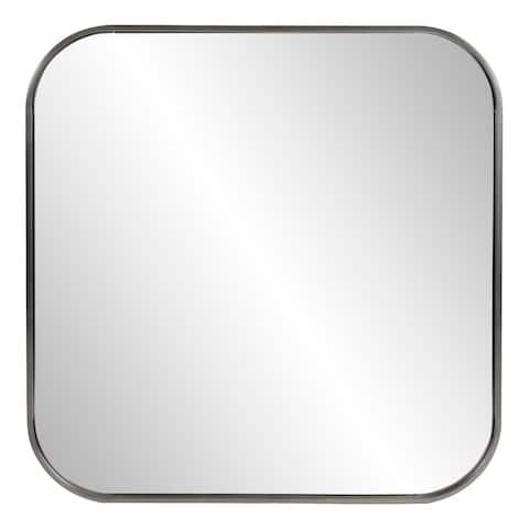 """Copenhagen Square Silver Mirror - 22.1/2 x 30"""" x 1"""""""""""