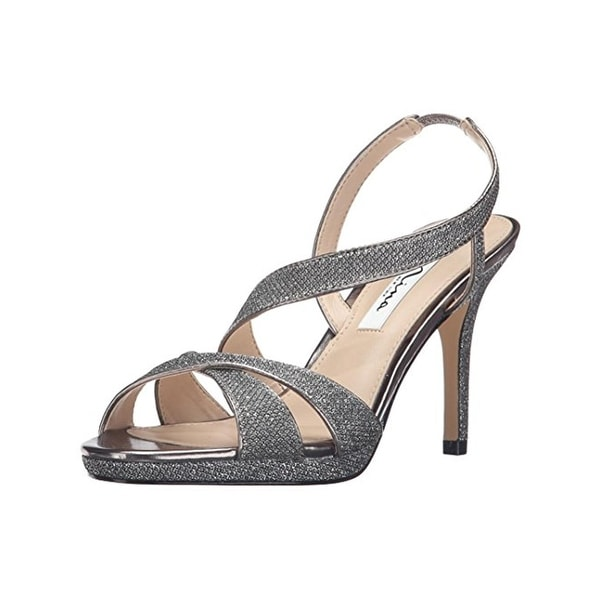 Nina Womens Brilyn Evening Sandals Open Toe Pumps