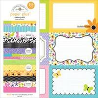 "Floral - Doodlebug Paper Plus Value Pack 12""X12"" 8/Pkg"