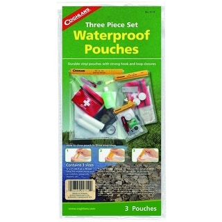 Coghlan's 9710 Waterproof Pouch Set, 3 Pieces