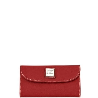 Dooney & Bourke Saffiano Continental Clutch Wallet (Introduced by Dooney & Bourke at $128 in )
