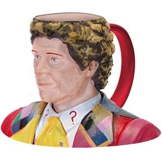 Doctor Who 6th Doctor Colin Barker Ceramic 3D Toby Jug Mug