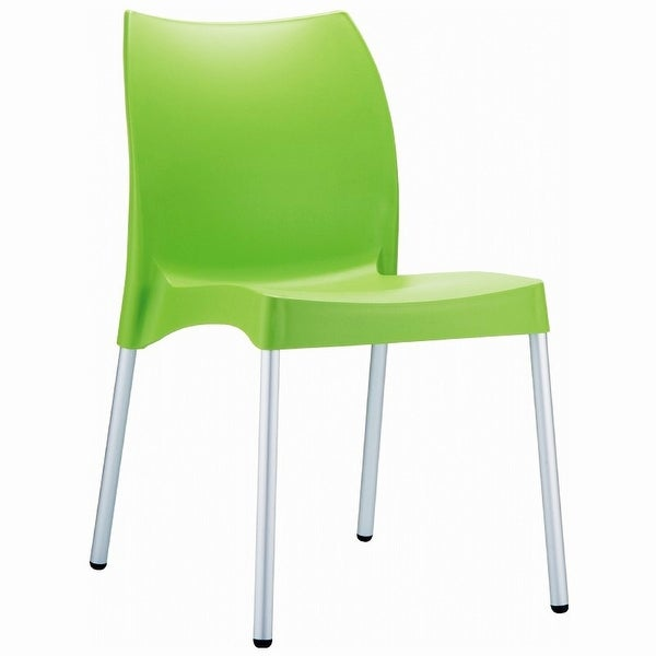 Vita Resin Outdoor Dining Chair (Set of 2) - Apple Green