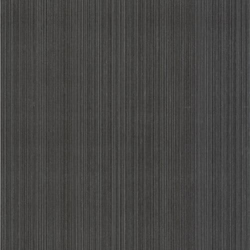 Brewster DL30460 Suelita Charcoal Striped Texture Wallpaper