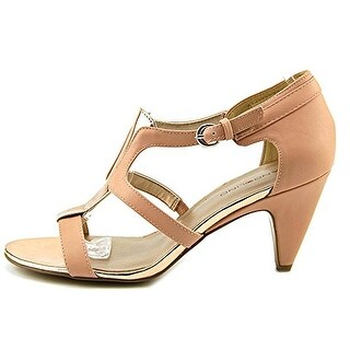 Bandolino Dacia Peep Toe Synthetic Sandals