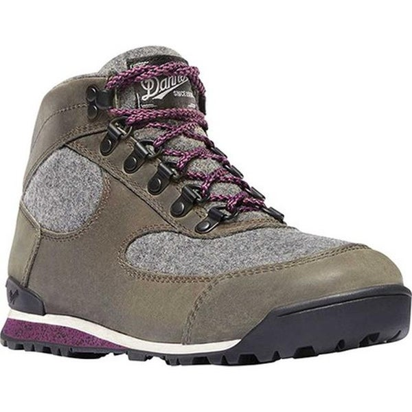 Shop Danner Women S Jag Hiking Boot Smoke Gray Full Grain