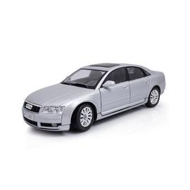 Motor Max 1:18 Die-Cast 2004 Silver Audi A8