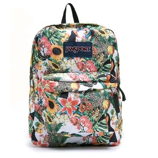 JanSport T501 SuperBreak Authentic School Backpack - OS (T5010WR Multi Jungle Jam)