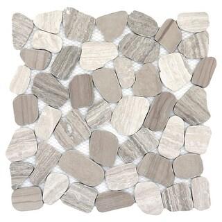 """Emser Tile M05CULT1212MOH Cultura - 12"""" x 12"""" Pebble Mosaic Multi-Surface Tile - - N/A"""