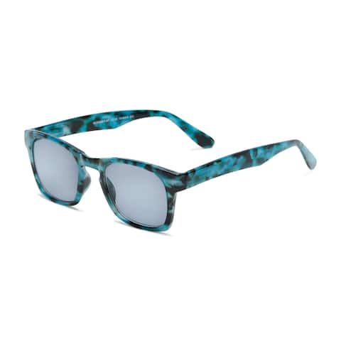 Readers.com The Beacon Reading Sunglasses Retro Square Reading Glasses