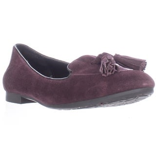 Born Kary Tassel Front Loafers - Burgundy