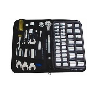 Toolbasix JL10008A Socket & Wrench Set, 51 Pieces