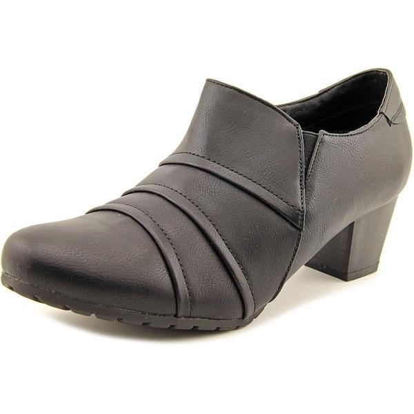 Wanderlust Cwen Women Round Toe Synthetic Black Heels