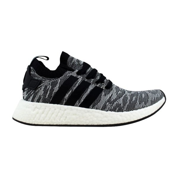 6c19da013 Shop Adidas NMD R2 Primeknit Core Black White BY9409 Men s - Free ...