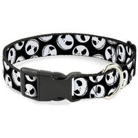 Buckle-Down Nightmare Before Christmas Jack Expressions Pet Collar - Medium
