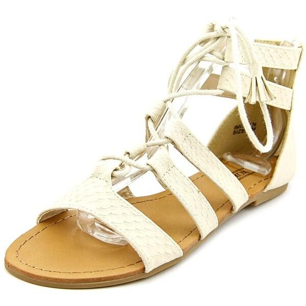 XOXO Imogen   Open Toe Synthetic  Gladiator Sandal