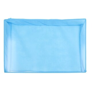 """Blue Dust Proof Cover Shield Guard for 24"""" Desktop LCD Screen Monitor"""