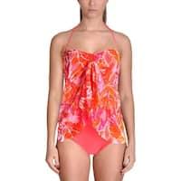 Lauren Ralph Lauren Womens Flyaway Printed One-Piece Swimsuit