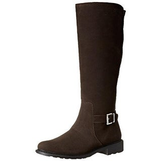 Cougar Womens Jane Suede Knee-High Riding Boots