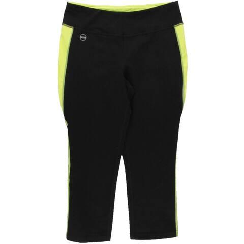 Lauren Ralph Lauren Womens Capri Pants Yoga Waistband Zip Pocket