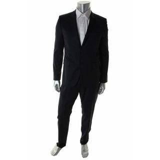 Hugo Hugo Boss Mens Aeron1/Hamen1 2PC Wool Two-Button Suit - 36R