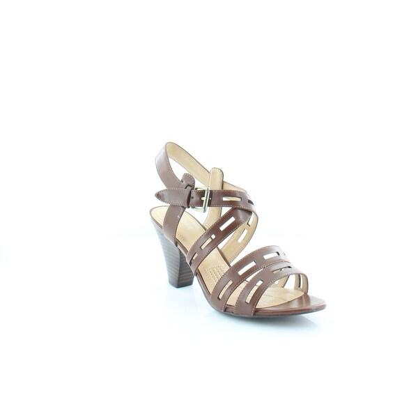 Easy Spirit Ranette Women's Sandals & Flip Flops Brown - 8.5