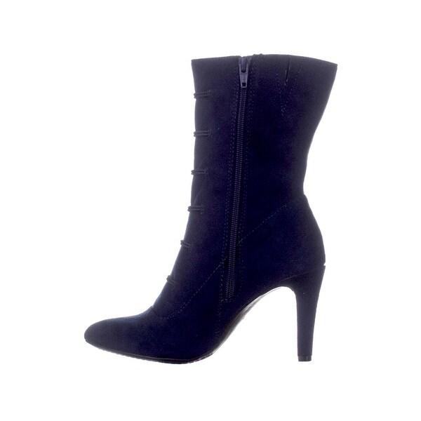 Buy Women's Mid-Calf Boots, Blue Boots