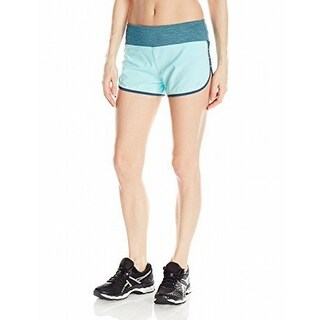 Asics NEW Turquoise Blue Womens Size Small S Everyday Sport Shorts