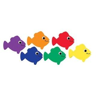 Die Cut Accents Multicolor Fish