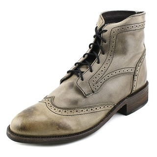 Independent Boot Company Sanderson II Men Wingtip Toe Leather Boot