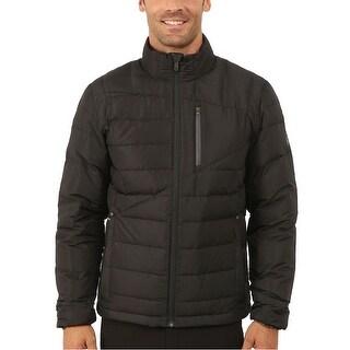 Spyder Dolomite Full-Zip 700 Fill Down Jacket Large L Black & Polar Grey