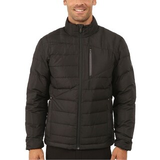 Spyder Dolomite Full Zip 700 Fill Down Jacket Medium M Black & Polar Grey
