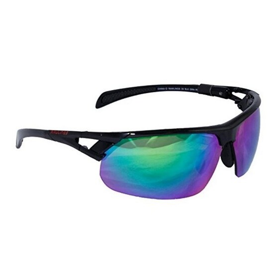 77461d1f42 Shop Rawlings QTM 28 Mens Adult Sport Sunglasses Wrap Shades Mirrored  10224615.QTM - Black - Free Shipping On Orders Over  45 - Overstock -  18058481