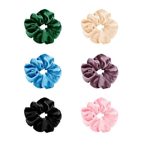 Secret Pocket Ponytail Hair Tie with Hidden Zipper - 6 Colors