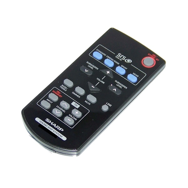 NEW OEM Sharp Remote Control Originally Shipped With: HT-SB250, HTSB250