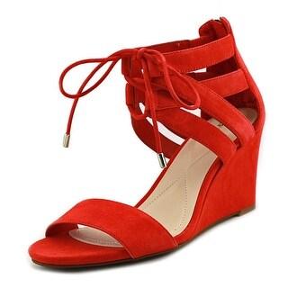 Alfani Karlii   Open Toe Suede  Wedge Sandal