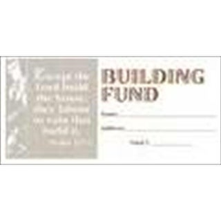B & H Publishing Group Offering envelope Building Fund Psalm 127 1