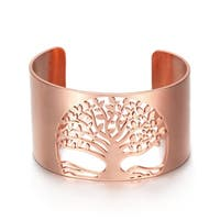 Tree Of Life Cuff Bracelet For Women