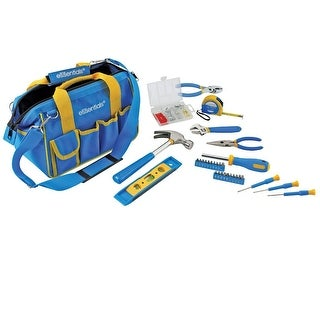 Great Neck 31 Piece Essential Around the House Tool Kit-Blue - 21046