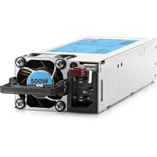 HP 500W Flex Slot Platinum Hot Plug Power Supply Kit - 250 V AC (Refurbished)