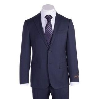 Novello Suit - Blue Birdseye, Modern Fit