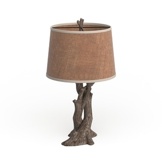 Link to Carbon Loft Watt Resin Natural Wood Table Lamp Similar Items in Table Lamps