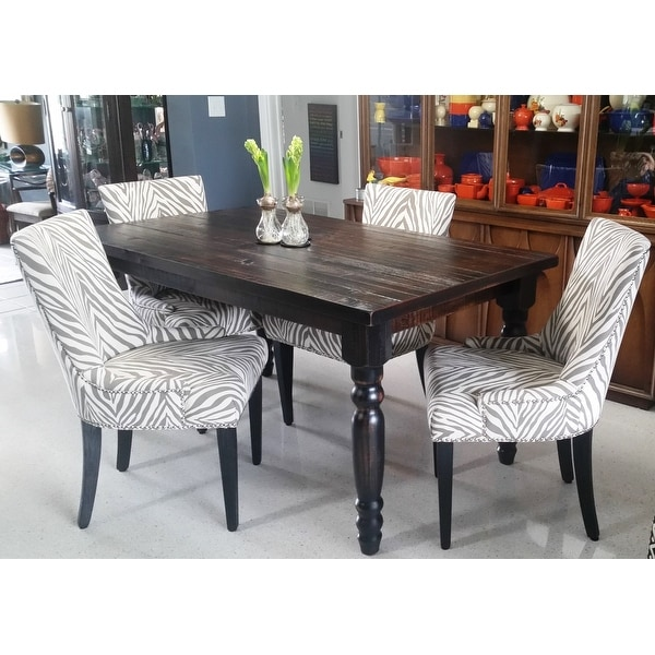 Shop Safavieh En Vogue Dining Lester Grey Zebra Dining Chairs (Set Of 2)    Free Shipping Today   Overstock.com   8306996
