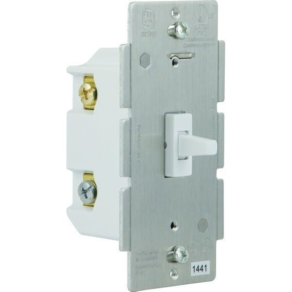 Ge 12728 Z-Wave(R) 3-Way In-Wall Add-On Toggle Switch