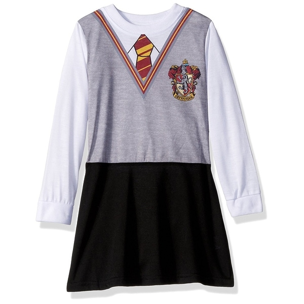 Shop Intimo Big Girls\' Harry Potter L/S Hermione Gryffindor Uniform ...