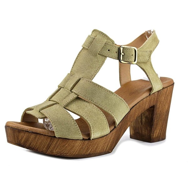 Eric Michael Lucy Strappy Sandal Women Green Sandals