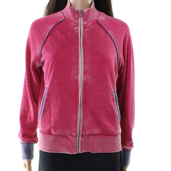 Alternative Women's Medium Full Zip Mock Neck Jacket