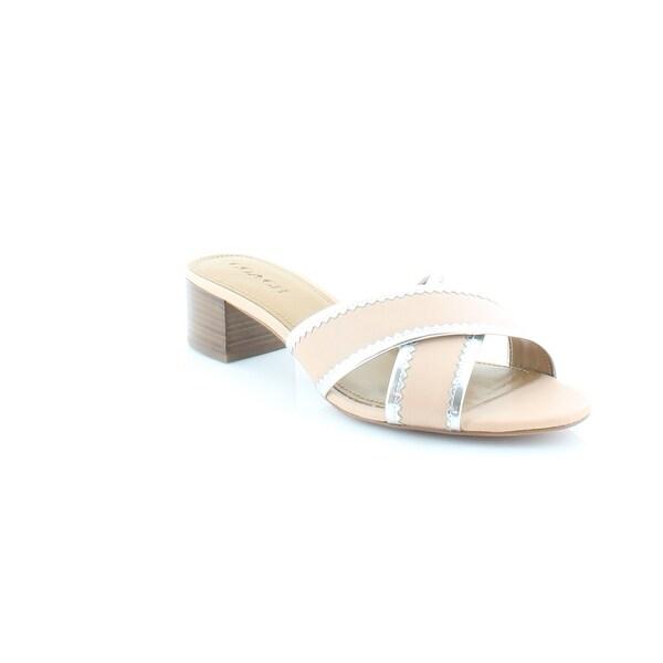 Coach Murielle Women's Sandals & Flip Flops Beechwood/Silver